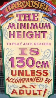reacher min height