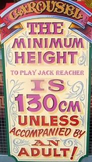 reacher min height